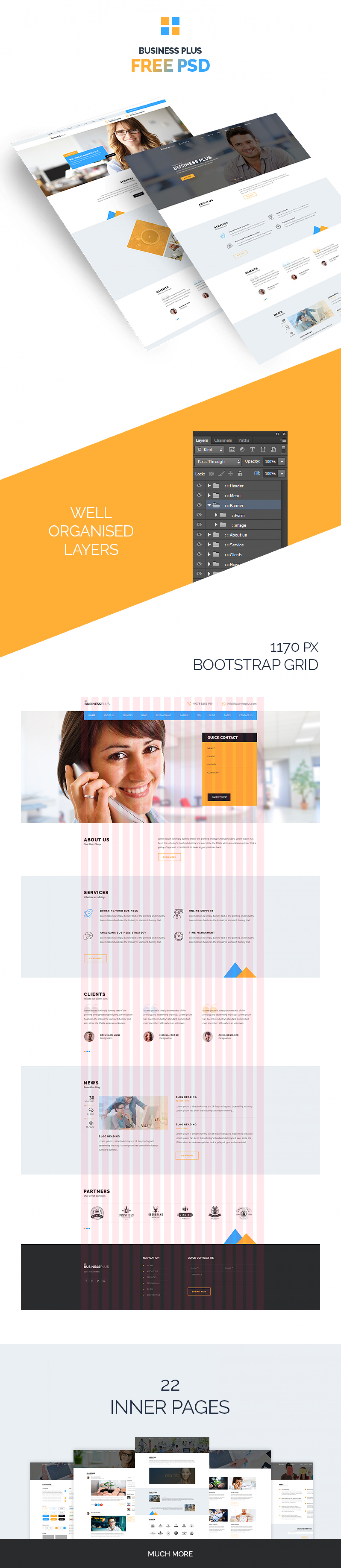 Business plus psd template download 13467 mb accmission Gallery